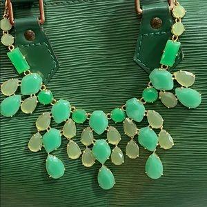 Stella and Dot beautiful green necklace